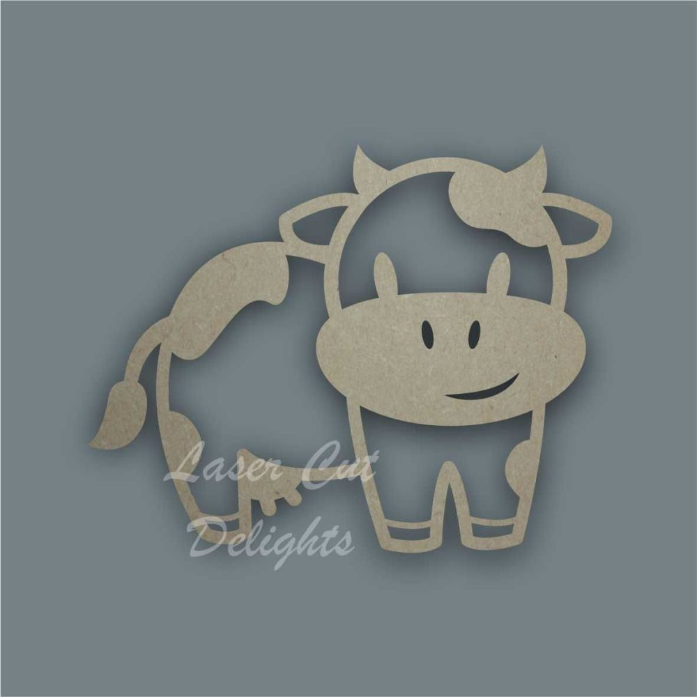 Cow Stencil / Laser Cut Delights
