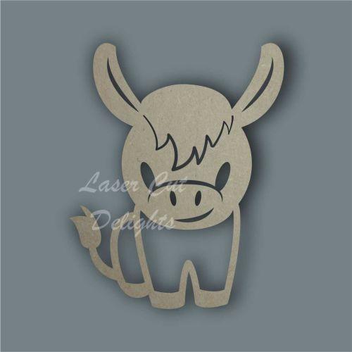 Donkey Stencil / Laser Cut Delights