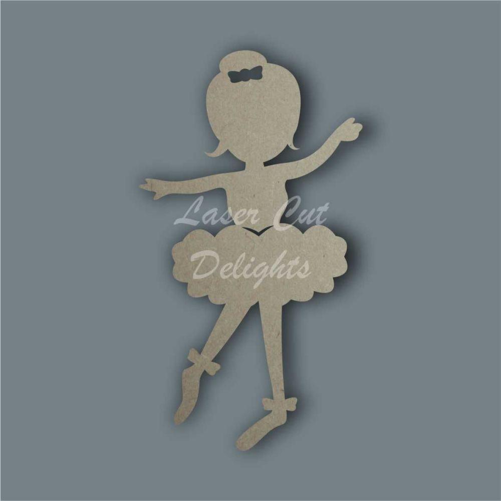 Ballerina Silhouette / Laser Cut Delights