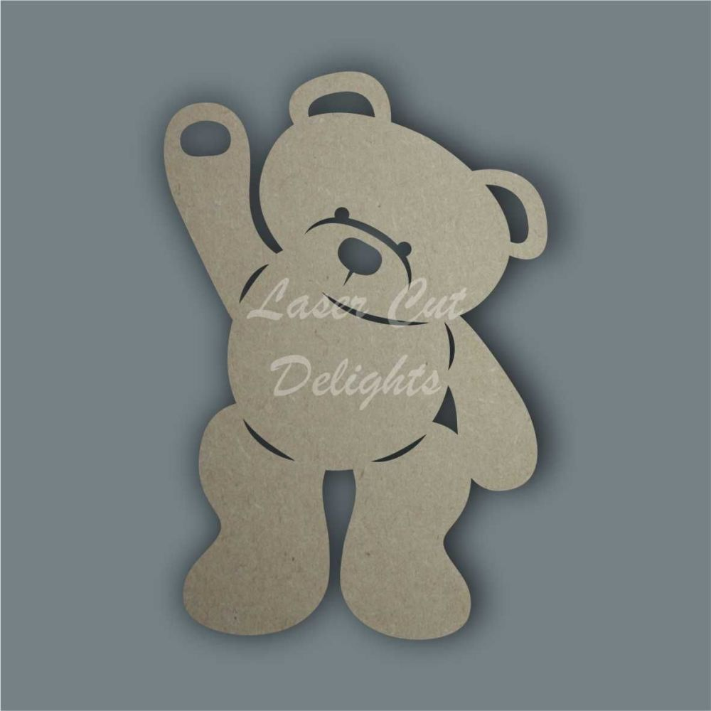 Bear Silhouette / Laser Cut Delights