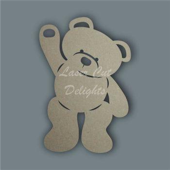 Bear Silhouette / Laser Cut Delights
