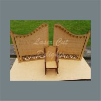 Heaven GATES on Plinth with Chair 30cm 3mm