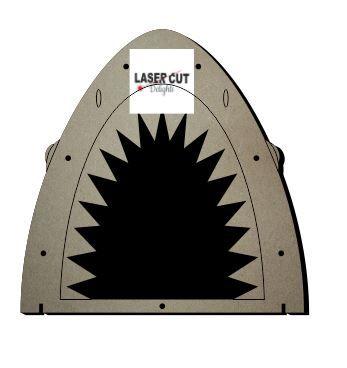 Drop Box SHARK Reward Chart / Laser Cut Delights