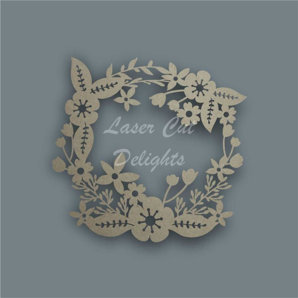 Wreath Fancy / Laser Cut Delights