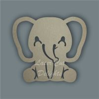 Elephant Stencil / Laser Cut Delights
