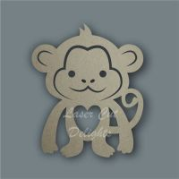 Monkey Stencil / Laser Cut Delights