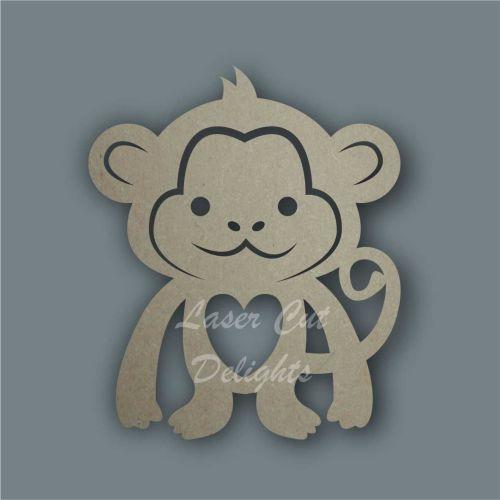 Monkey Stencil / Laser Cut Delights