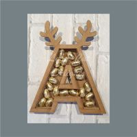 Fillable Any Letters or Numbers ANTLER (Original) / Laser Cut Delights