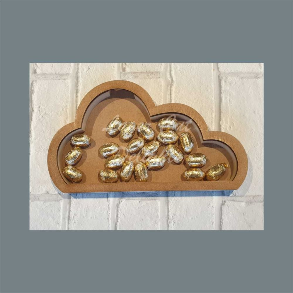 Fillable Shape Cloud / Laser Cut Delights