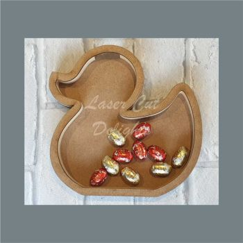 Fillable Shape Duck / Laser Cut Delights