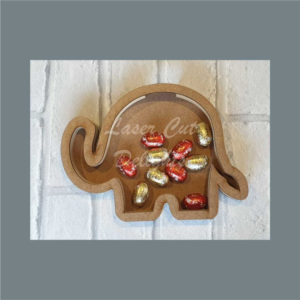 Fillable Shape Elephant / Laser Cut Delights