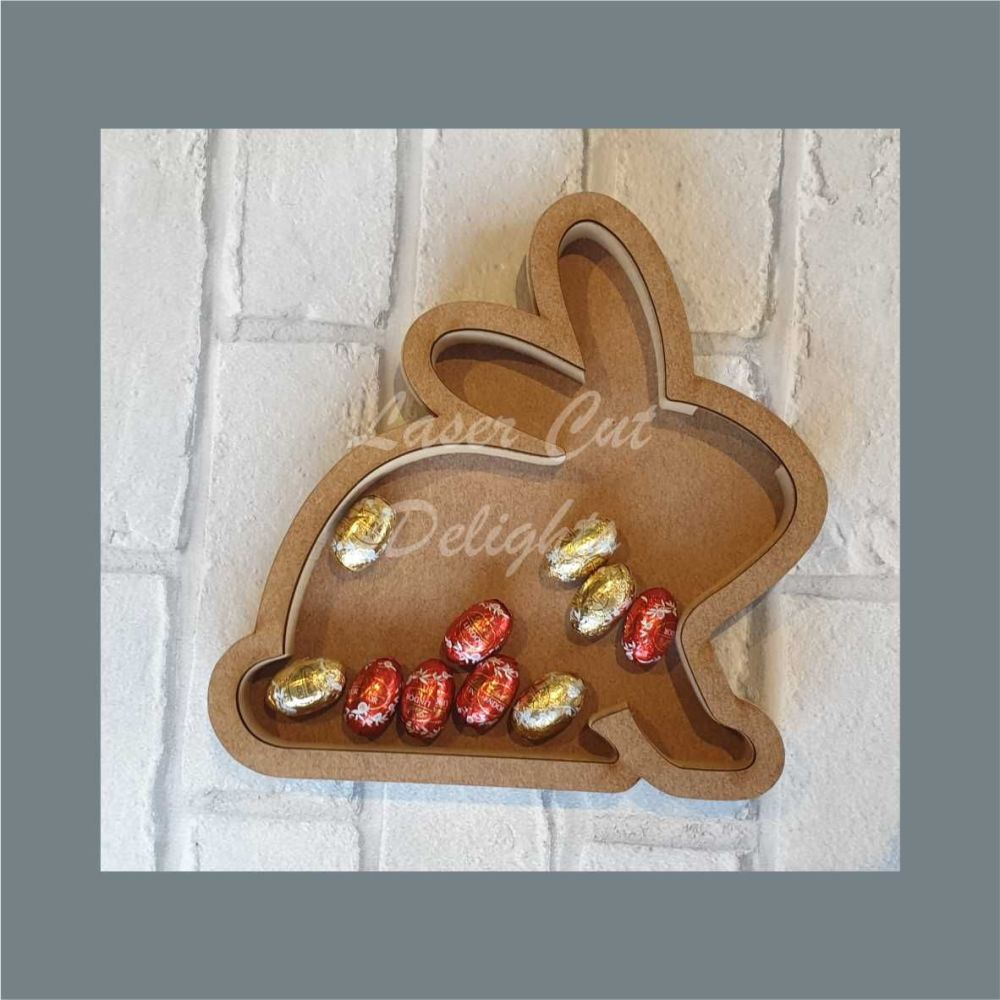 Fillable Shape Rabbit / Laser Cut Delights