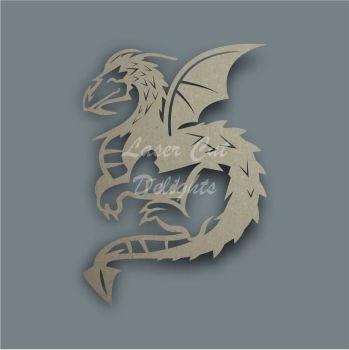 Dragon Full Body Stencil / Laser Cut Delights