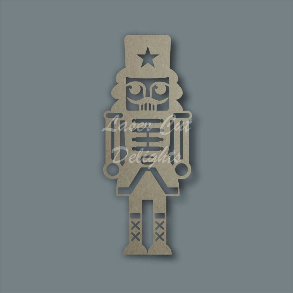 Nutcracker Stencil / Laser Cut Delights