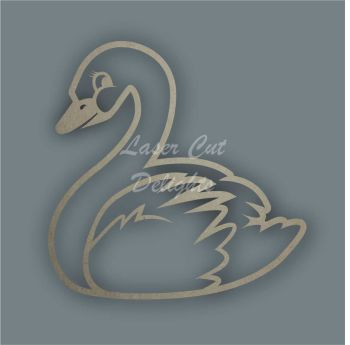 Swan Stencil / Laser Cut Delights