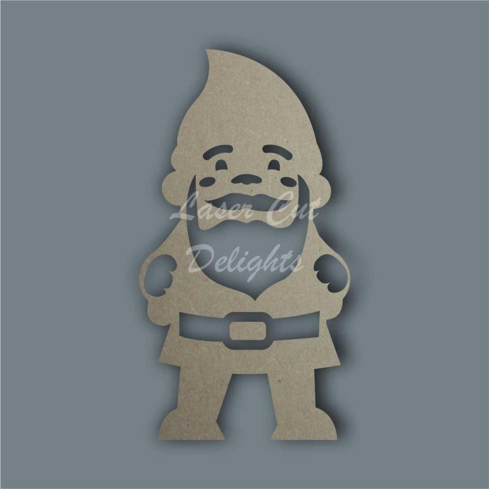 Gnome Stencil / Laser Cut Delights