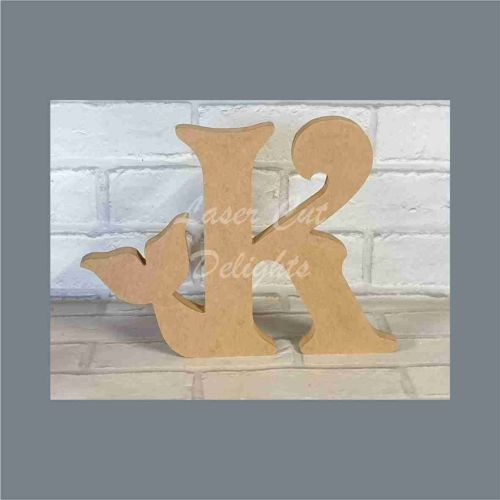 Tailed Letters Mermaid Fish / Laser Cut Delights