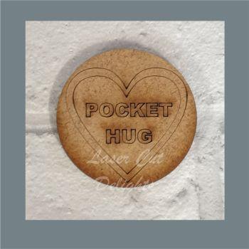 Pocket Hug Circle / Laser Cut delights