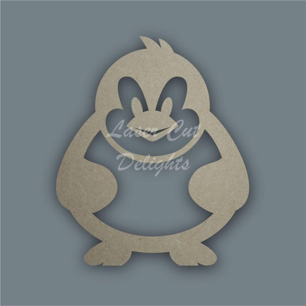 Penguin Stencil / Laser Cut Delights