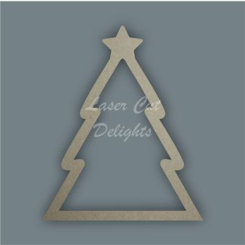 Christmas Tree Stencil / Laser Cut Delights