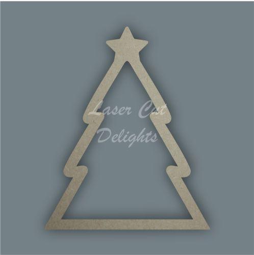 Christmas Tree Stocking / Laser Cut Delights
