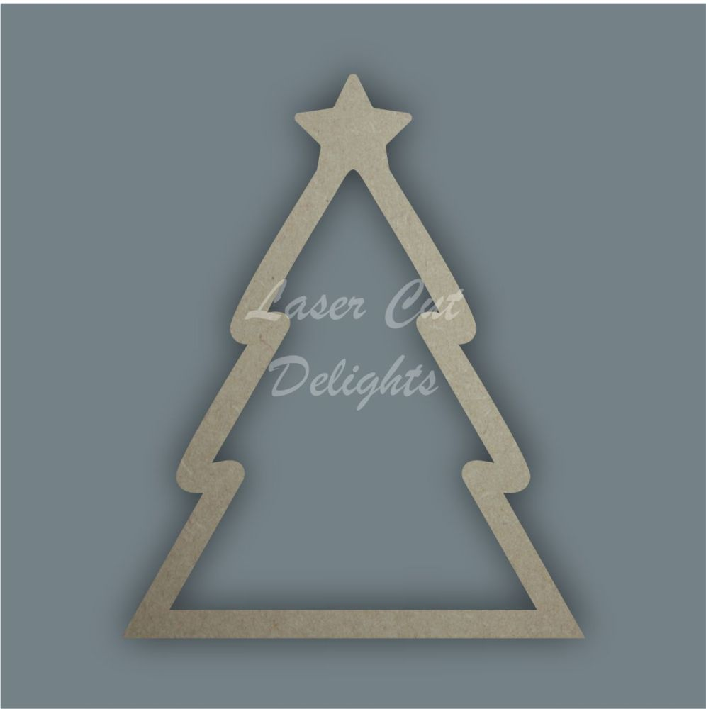 Christmas Tree Stencil / Laser Cut Delights