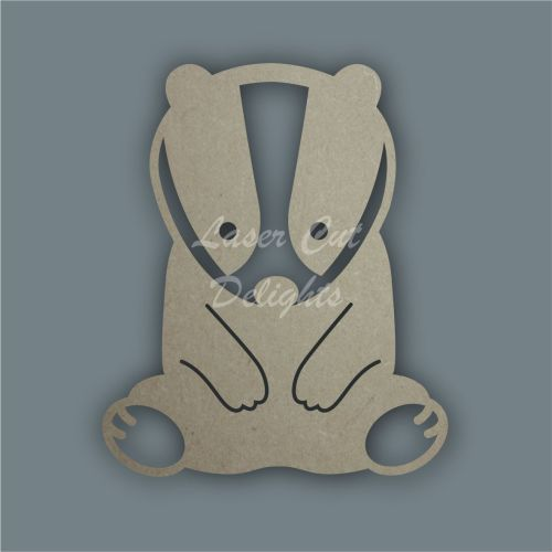 Badger Stencil / Laser Cut Delights