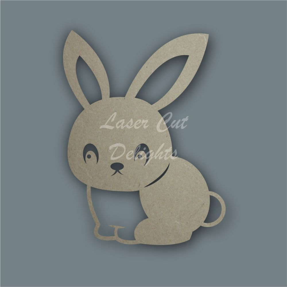 Bunny Rabbit Stencil / Laser Cut Delights