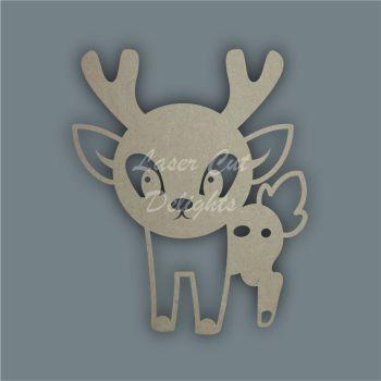 Deer Doe Stencil / Laser Cut Delights