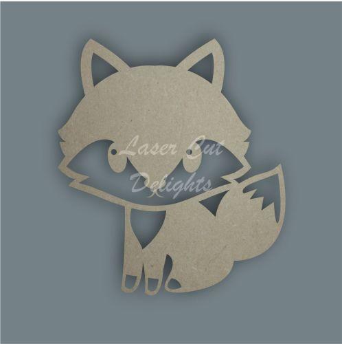 Fox Stencil / Laser Cut Delights
