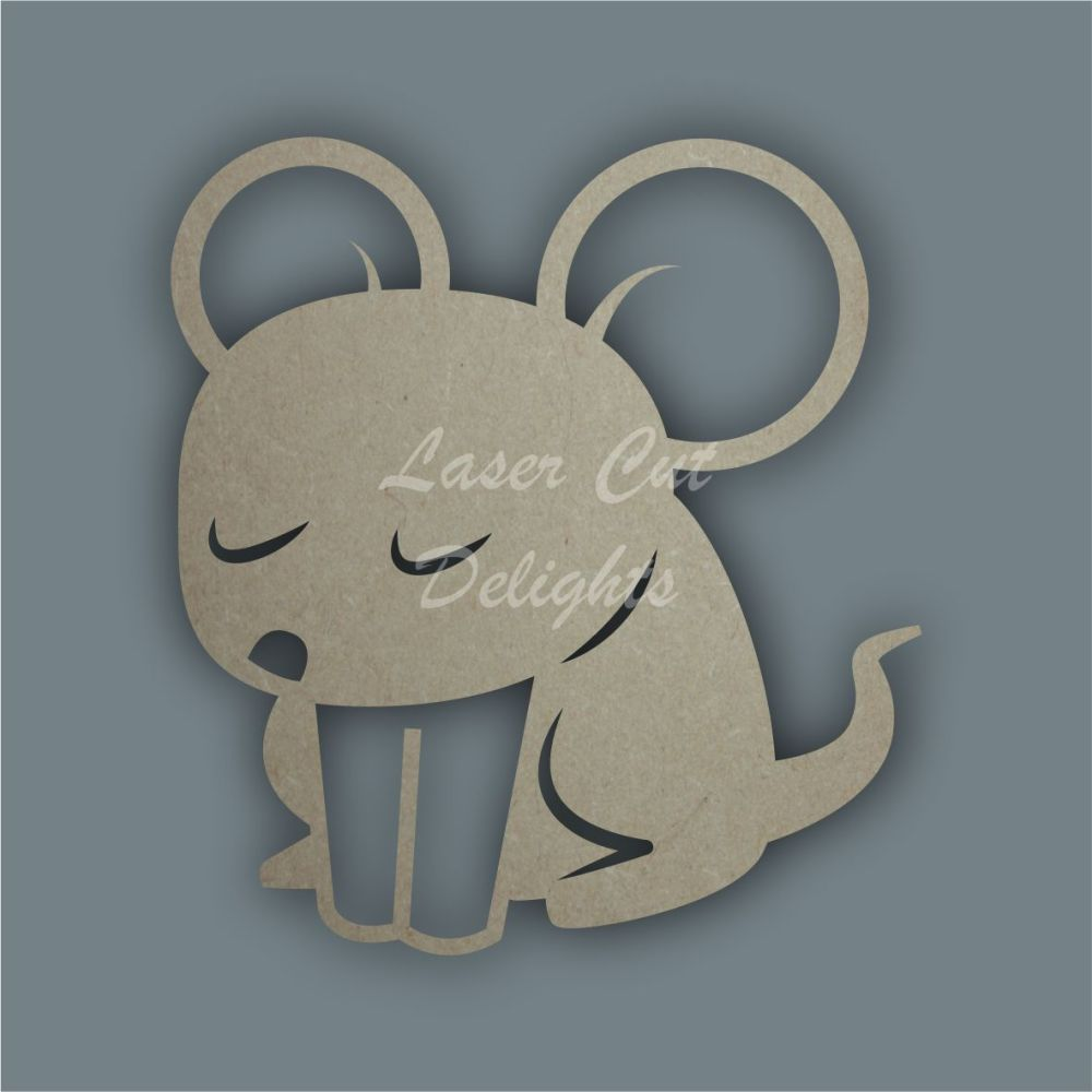 Mouse Stencil / Laser Cut Delights