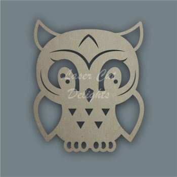 Owl Stencil / Laser Cut Delights