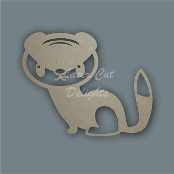 Weasel Stoat Stencil / Laser Cut Delights