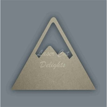 Mountain One Stencil / Laser Cut Delights