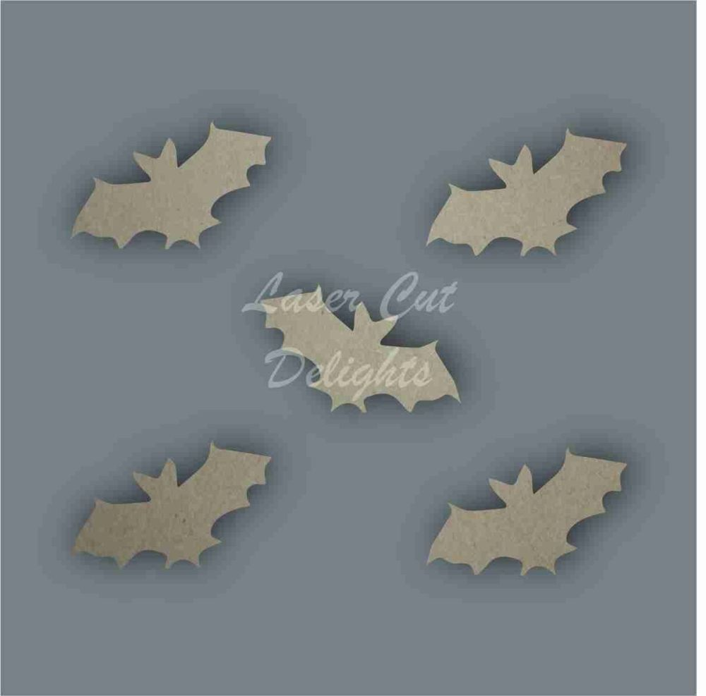 Bat Pack of 5 3mm / Laser Cut Delights