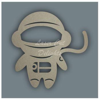 Space Man Astronaut Stencil / Laser Cut Delights