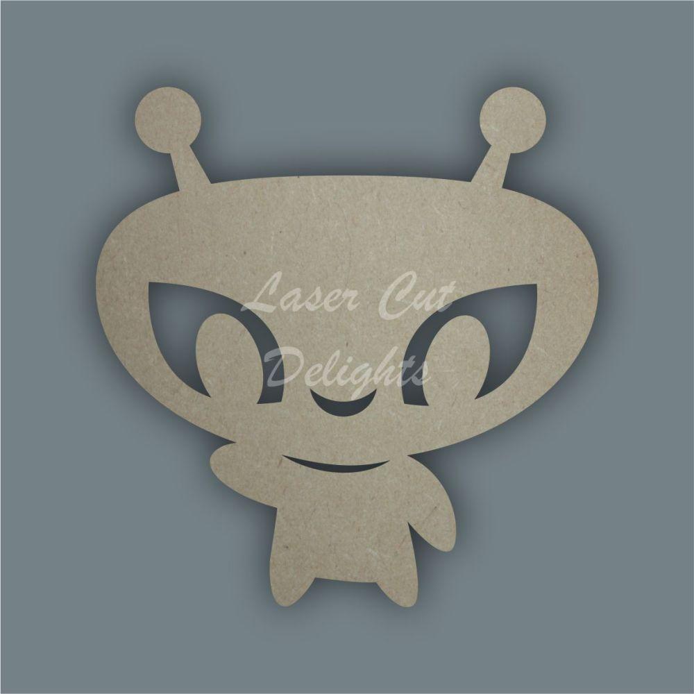 Alien Stencil / Laser Cut Delights