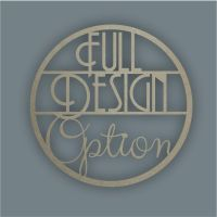 Large Hoop FULL DESIGN OPTION / Laser Cut Delights