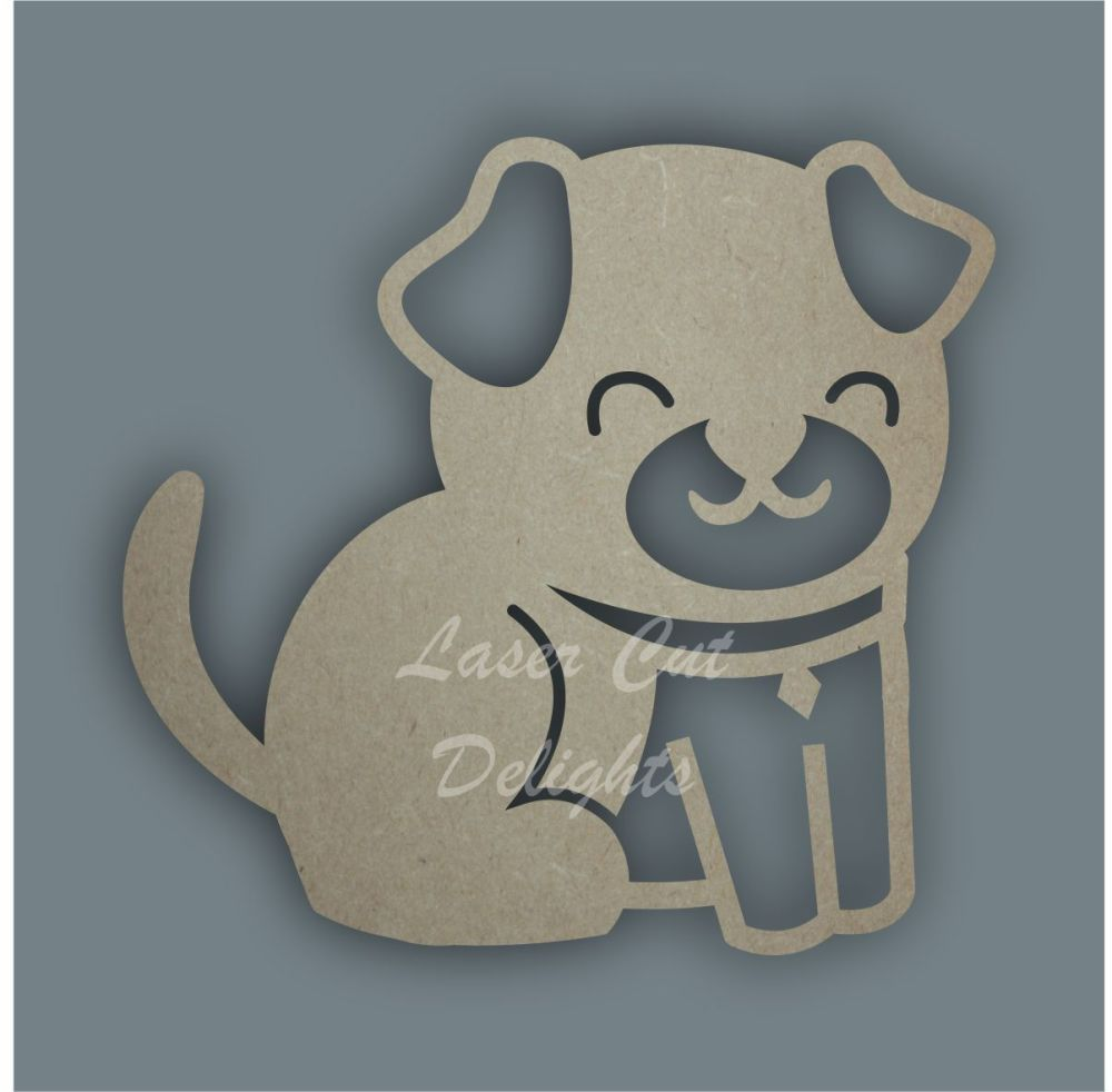 Dog Stencil / Laser Cut Delights