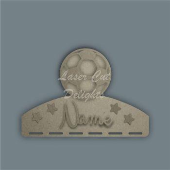 Name Plaque STENCIL ELEPHANT Bow Medal Hanger / Laser Cut Delights