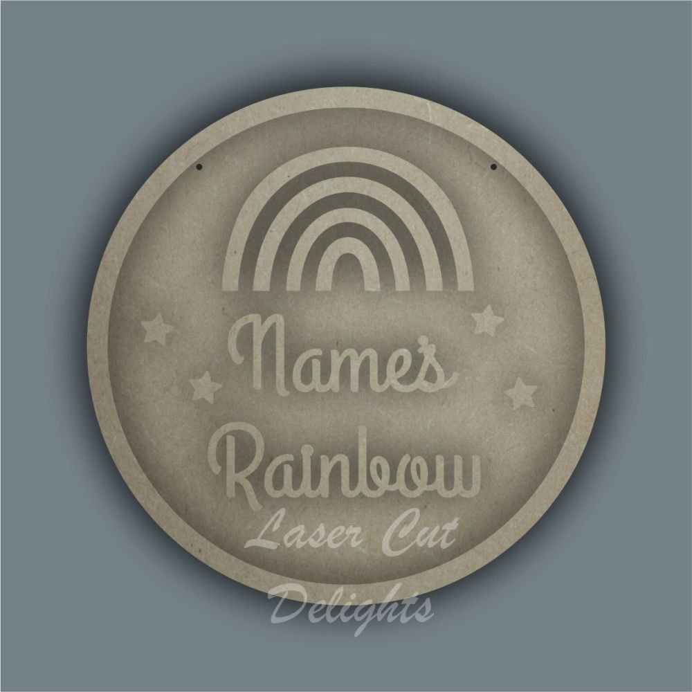 Ring Plaque - Name's Rainbow