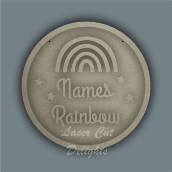Ring Plaque - Name's Rainbow