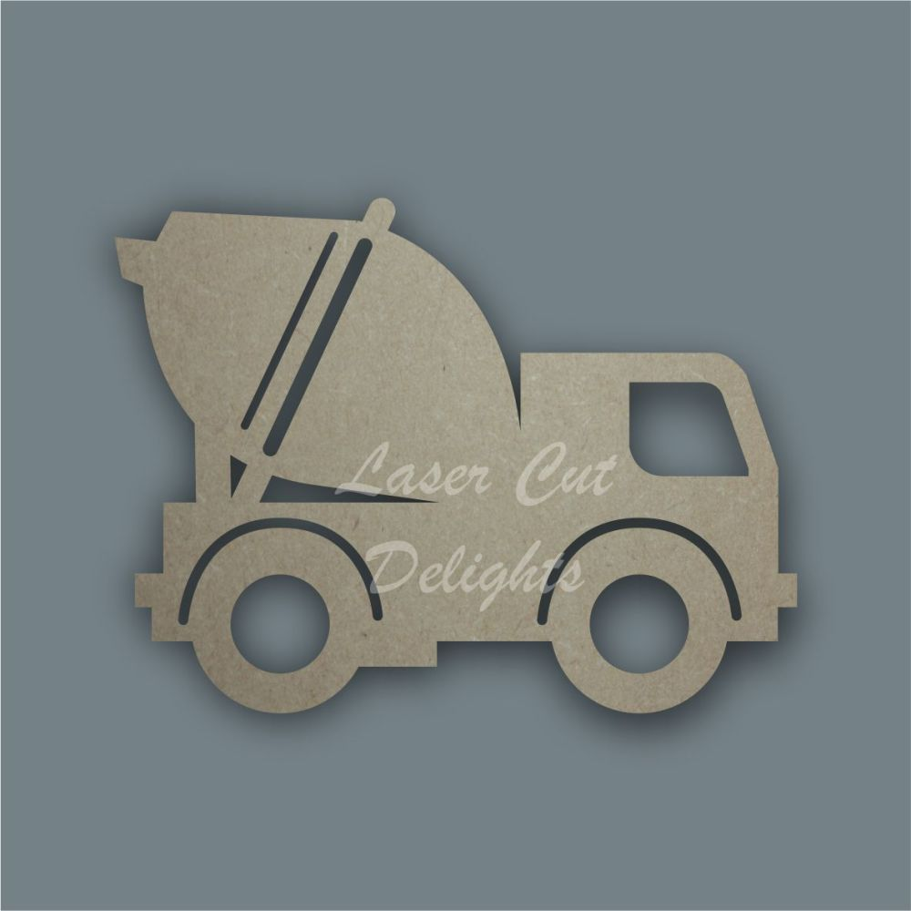 Farm Cement Mixer Stencil / Laser Cut Delights