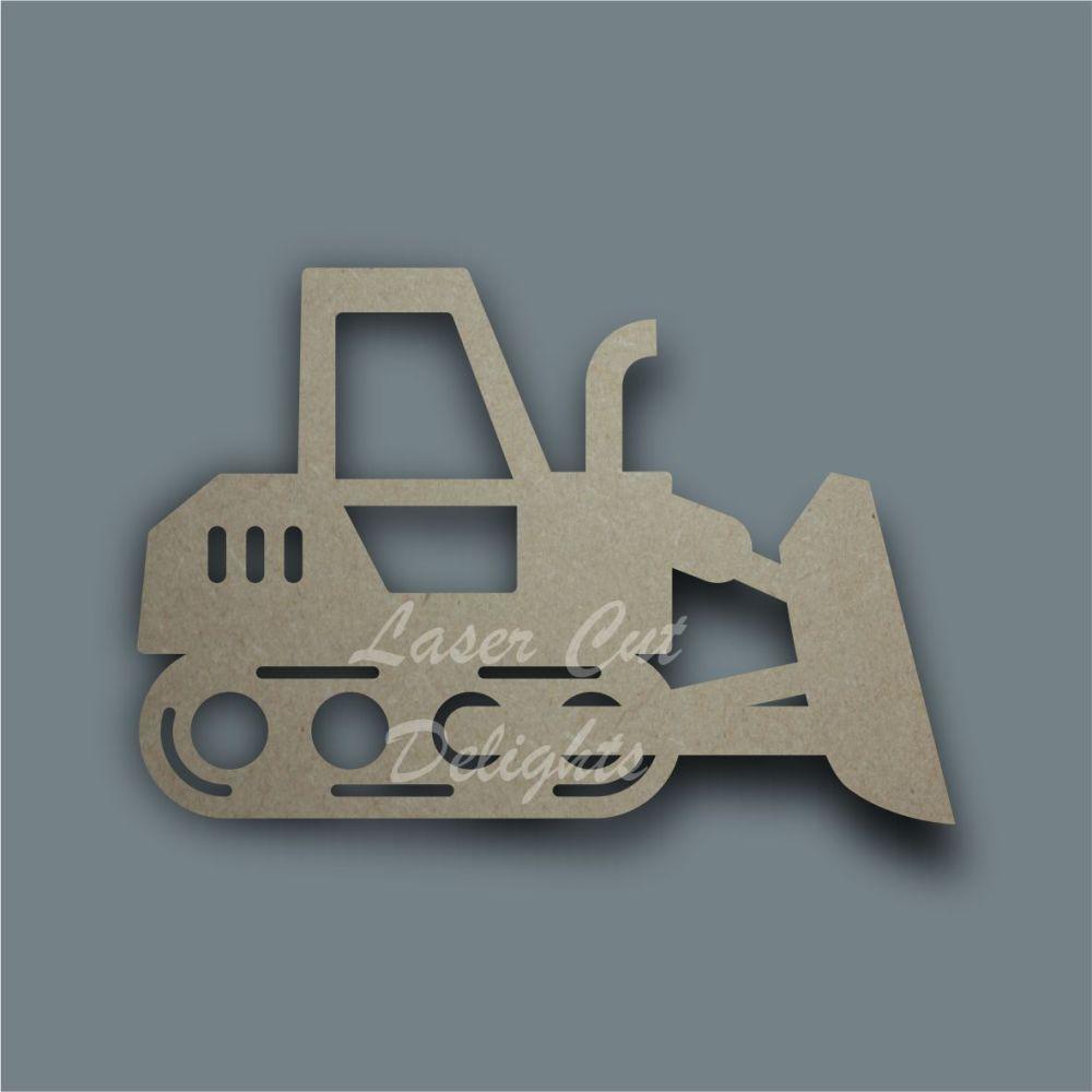 Farm Dozer Stencil / Laser Cut Delights
