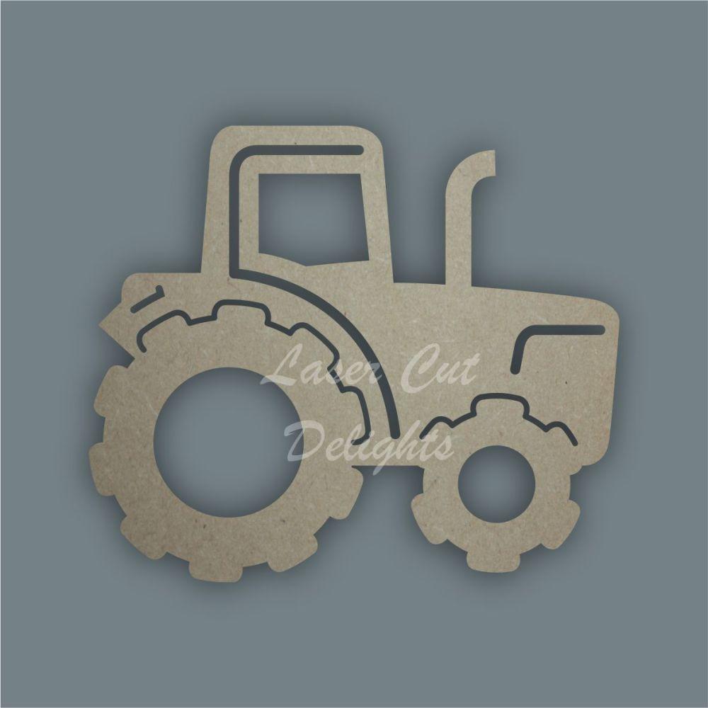 Farm Tractor Stencil / Laser Cut Delights