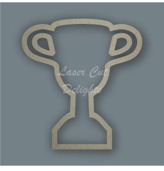 Trophy Stencil / Laser Cut Delights
