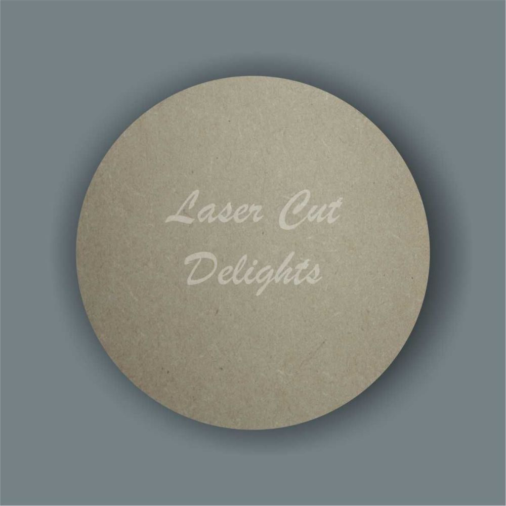 Large Solid 6mm Circle / Laser Cut Delights