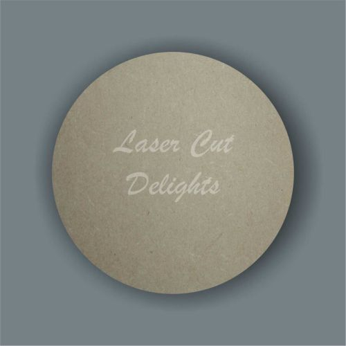 Large Solid Circle / Laser Cut Delights