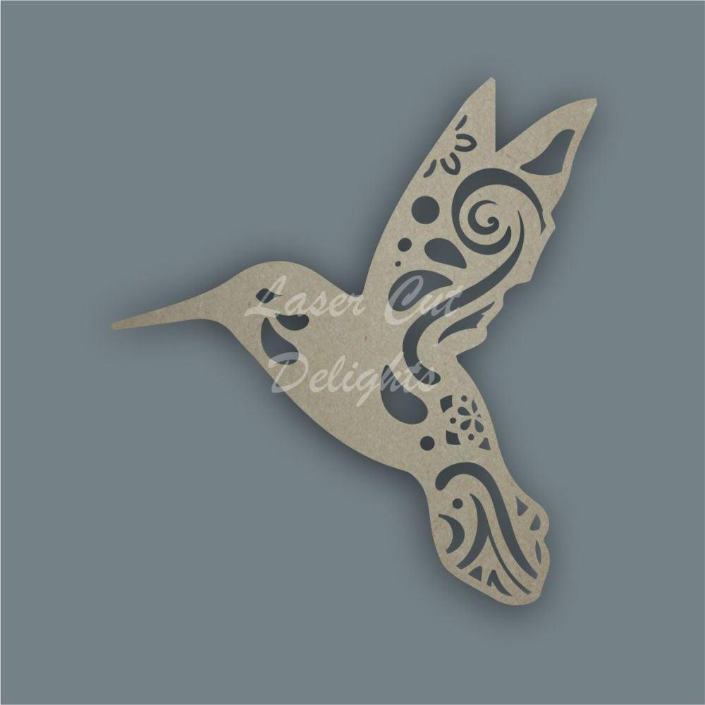 Hummingbird Mandala / Laser Cut Delights