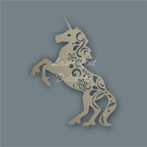Unicorn Full Mandala / Laser Cut Delights